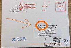 Zaprzysiężenie prezydenta. Róża Thun pokazała zaproszenie. Błąd w imieniu europosłanki
