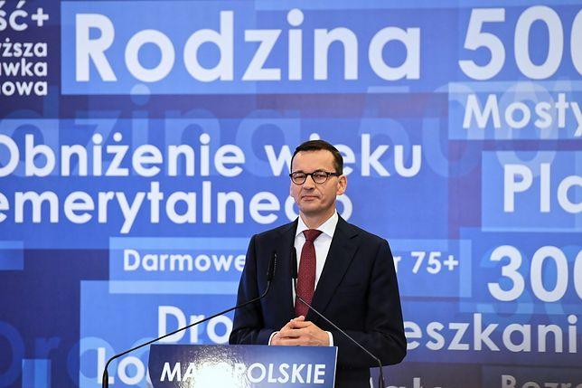 Mateusz Morawiecki w Krakowie