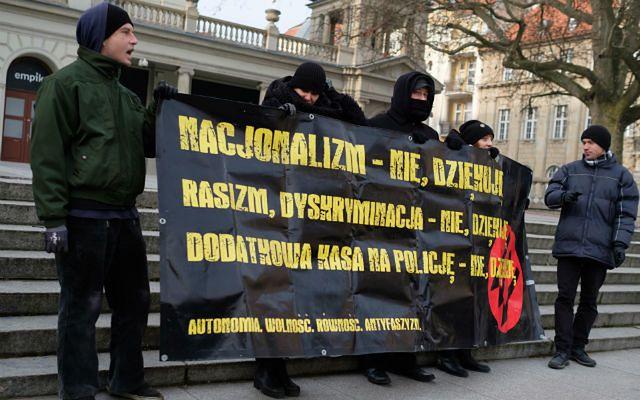Łódź: pikieta przeciw rasizmowi