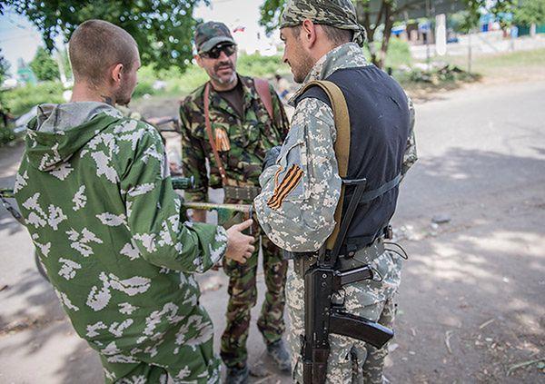 Separatyści w Słowiańsku