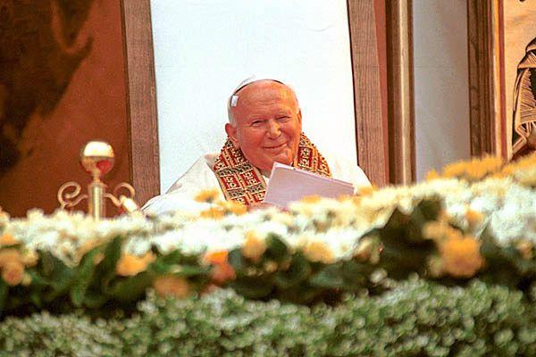 Papież Jan Paweł II w Wadowicach (fot. arch.)