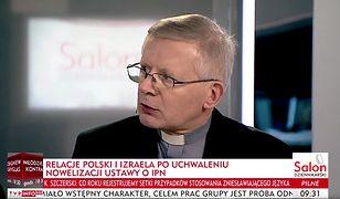 Ks. Henryk Zieliński skomentował ustawę o IPN