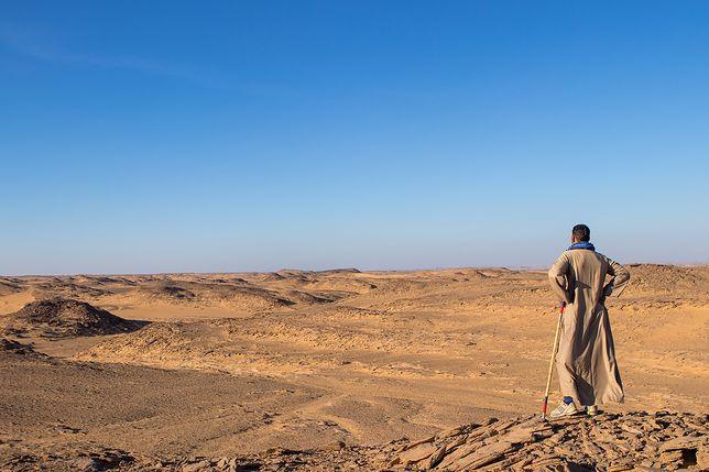 W Arabii Saudyjskiej znaleziono bardzo stare ślady stóp
