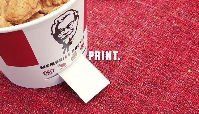 Kubełek od KFC z... wbudowaną drukarką