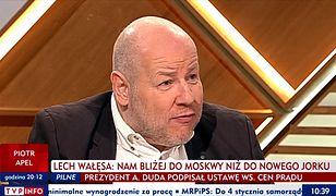 """Jan Filip Libicki w programie """"Woronicza 17"""""""