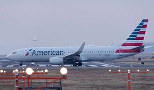 American Airlines lot z Chicago do Krakowa reklamują zdjęciem Gdańska
