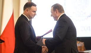 Prezydent Andrzej Duda ma uzależnić decyzję co do ustawy od przyszłości Jacka Kurskiego.