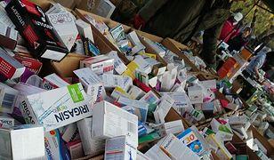 Leki i suplementy na bazarze Olimpia w Warszawie