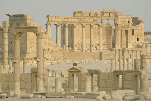 Państwo Islamskie zniszczyło część świątyni Bela w Palmyrze