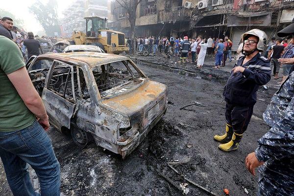 Zamach w Bagdadzie - wzrosła liczba ofiar