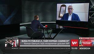 """Roman Giertych liczy na komisję śledczą w Sejmie. """"Prokuratura służy partii rządzącej"""""""