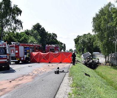 Tragiczny wypadek w Grębiszewie. Służby apelują o pomoc