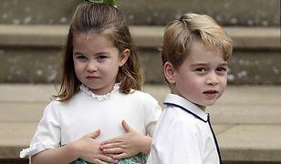 George'a i Charlotte czeka w Wielkanoc moc atrakcji. Będą psocić do woli