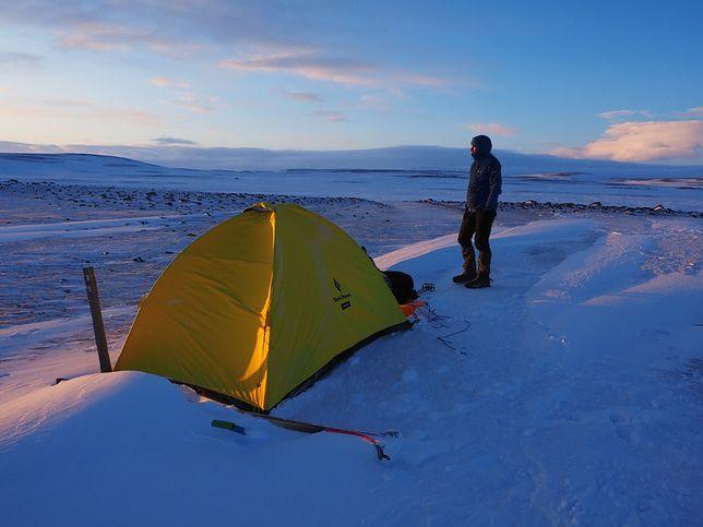 Co za wyczyn! Polak samotnie przeszedł Islandię zimą
