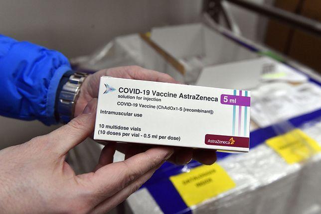 Szczepionka na COVID-19 AstraZeneca