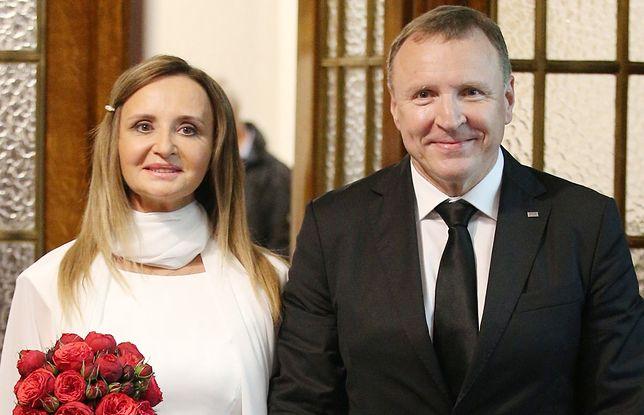 Jacek Kurski w Łagiewnikach