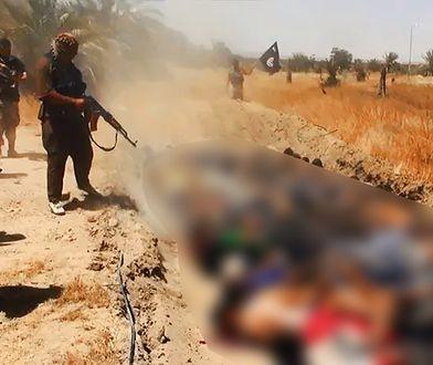 Dżihadyści z ISIL terroryzują część Iraku i Syrii - posuwają się także do egzekucji (na zdj. egzekucja  w irackiej prowincji Saleheddin)