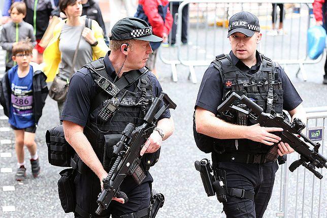Policja w Manchesterze
