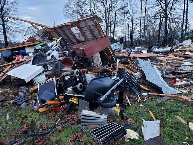 Potężne burze w USA. Co najmniej 11 osób nie żyje
