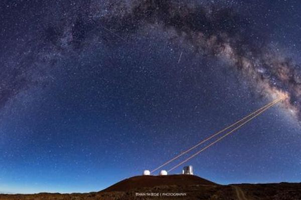 Teleskopy Kecka na górze Manua Kea na Hawajach