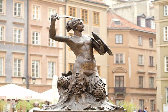 Syrenka od wieków jest symbolem stolicy