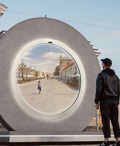 Powstał portal między dwoma miastami. Jedno z wejść znajduje się w Polsce