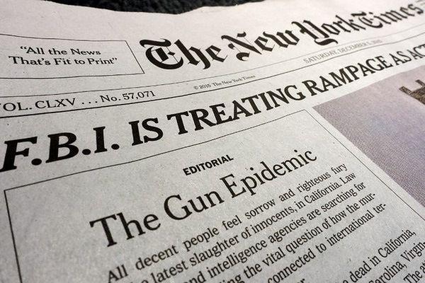 """""""New York Times"""" kończy działalność w Paryżu"""