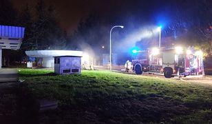 Kraków. Pożar w szpitalu. Akcja strażaków