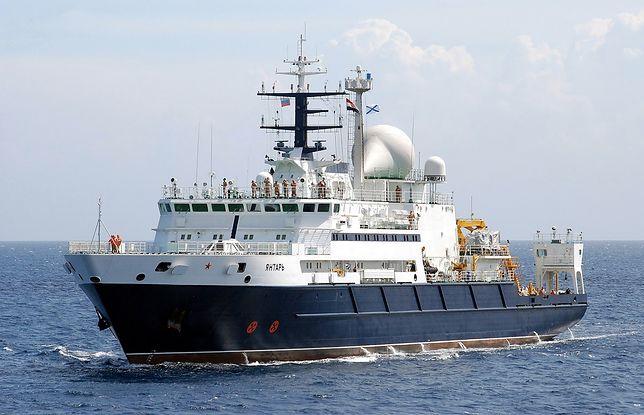 Yantar ma być okrętem badawczym, ale może mieć także inne przeznaczenie