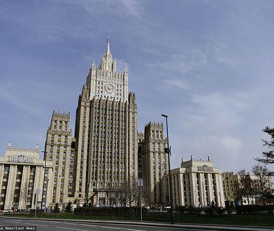 """Rosja. 10 amerykańskich dyplomatów uznanych za """"osoby niepożądane"""" (na zdjęciu MSZ Rosji)"""