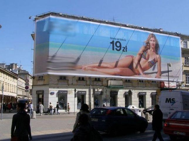 Zalew nośników reklamowych