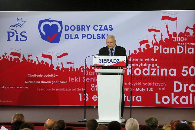 Jarosław Kaczyński w Sieradzu i Piotrkowie Trybunalskim: możemy sobie pogratulować