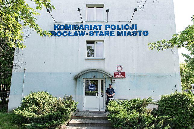 Komenda we Wrocławiu, gdzie zmarł Igor Stachowiak