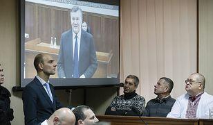 Na monitorze Wiktor Janukowycz