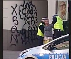 Brutalna interwencja policji w Gliwicach. Nagranie wywołało poruszenie