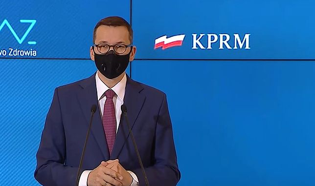 Premier Mateusz Morawiecki ogłosił nowe decyzje rządu