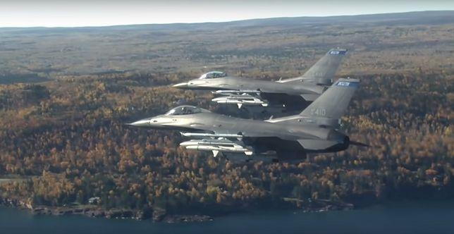 USA oddadzą Bułgarii dwa używane myśliwce F-16