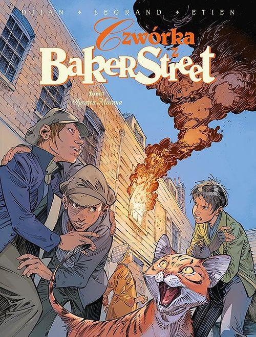Czwórka z Baker Street. Tom 7 – Sprawa Morana, Egmont 2021