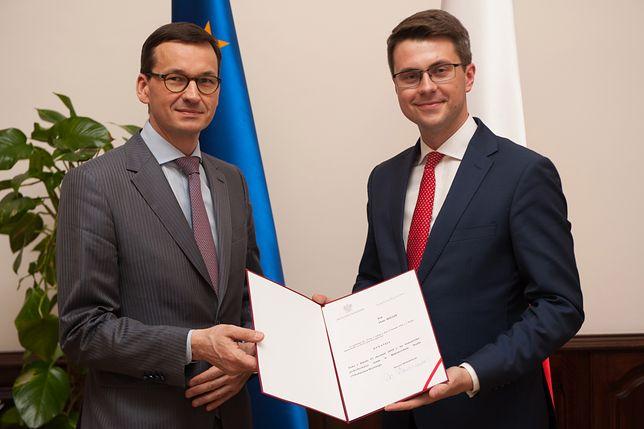 Piotr Mueller urodził się w 1989 r. w Słupsku