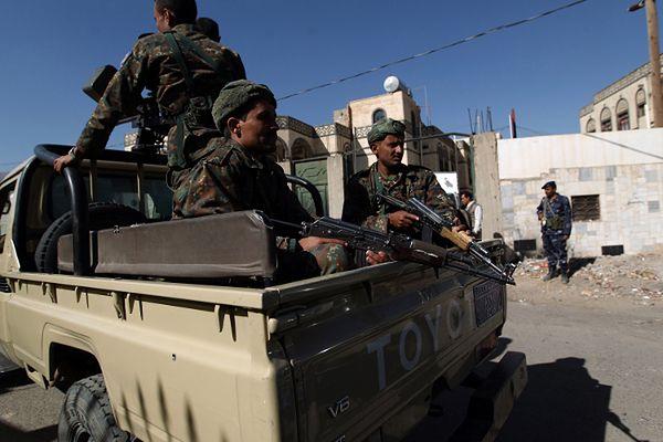 Jemeńscy żołnierze