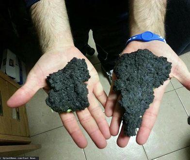 Spektakularna i gwałtowna erupcja Etny. Na ludzi spadają kamienie