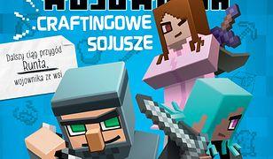 Minecraft (Tom 3). Minecraft 3. Pamiętni 8-bitowego wojownika. Craftingowe sojusze
