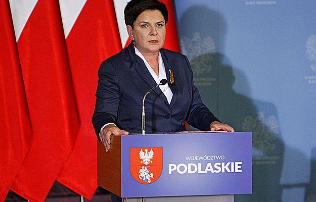 Premier Beata Szydło: przez rok polskiemu rządowi udało się dużo zrobić