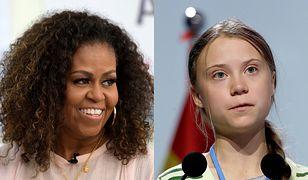 """Michelle Obama wsparła Gretę Thunberg. """"Ignoruj szyderców"""""""