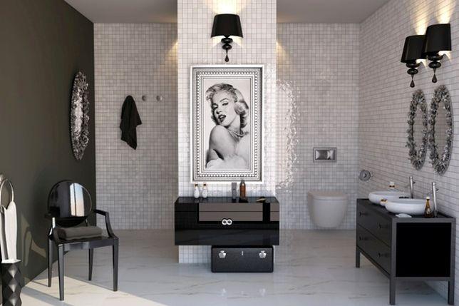 Aranżacja łazienki w stylu glamour. Najważniejsze zasady