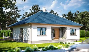 Nawet na niewielkiej działce może powstać piękny dom
