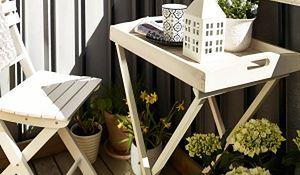 Pomysł na mały balkon. Inspiracje