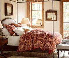 Romantyczne sypialnie z motywem kwiatowym. Piękne zdjęcia sypialni w stylu romantycznym