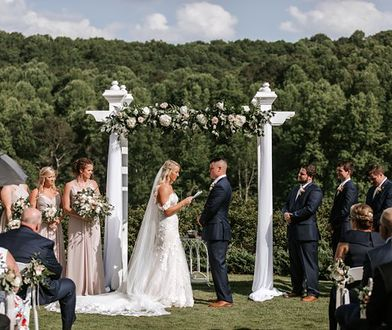 Aaron and Maggie Mimms wzięli ślub po ponad 20 latach znajomości