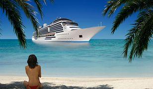 Wyspy Bahama - pożar na statku wycieczkowym